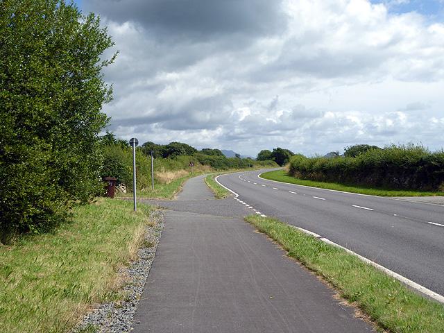 On the Wales Coast Path