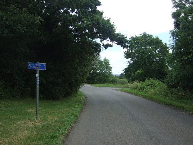 National Cycle Route 45 towards Droitwich