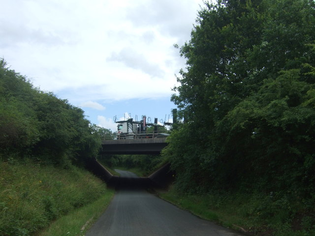 M5 motorway bridge over Green Lane