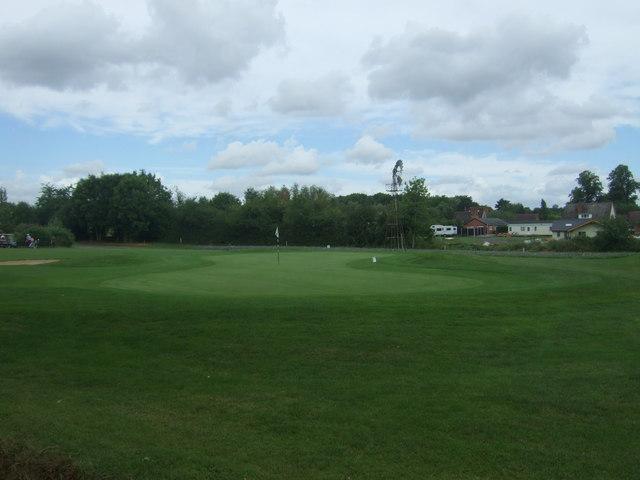 Golf green, Gaudet Luce Golf & Leisure Complex