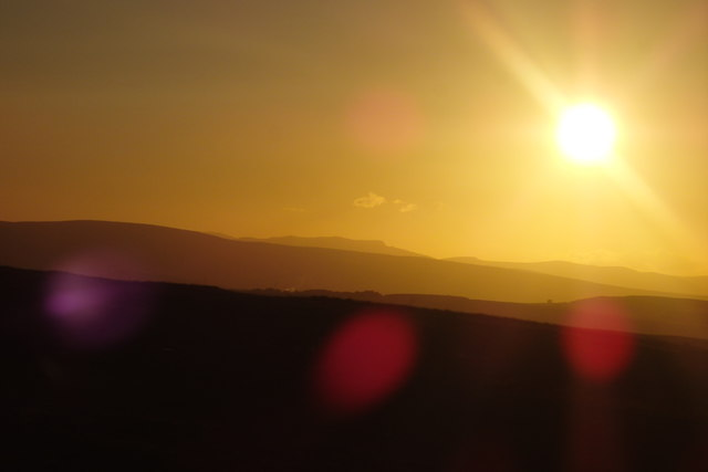 Sunset, Great Asby Scar