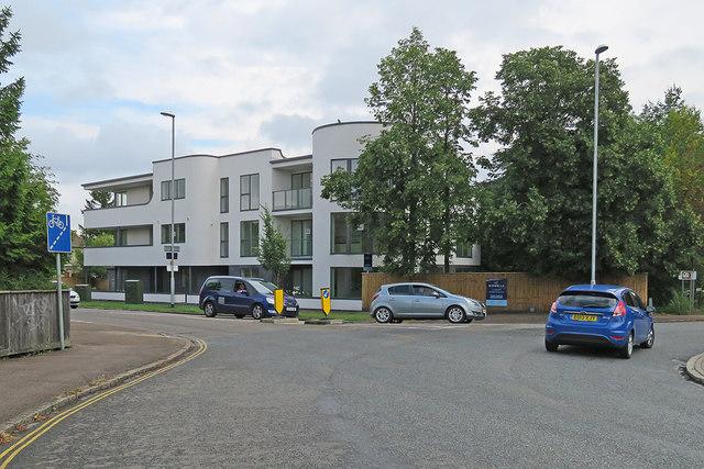 New flats on Mowbray Road