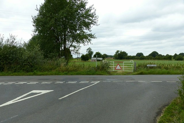 Junction of Brick Kiln Lane and Quarry Road