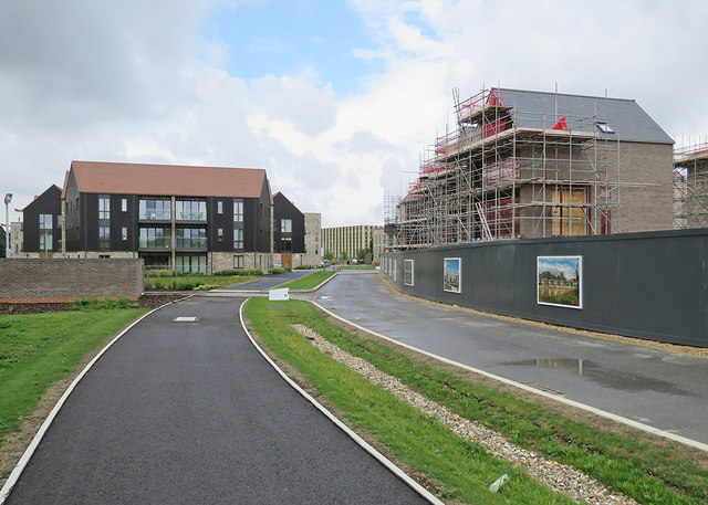 New houses at Ninewells