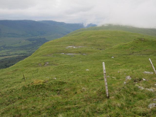 Fencelines below Fraochaidh