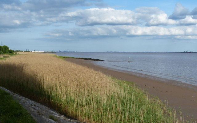 The Humber shoreline at Hessle