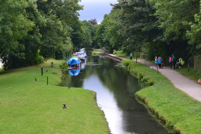 Monmouth and Brecon Canal at Pontymoile