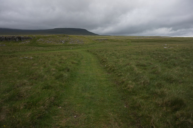 Heading north on Long Scar