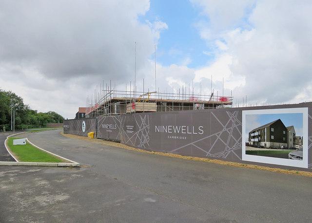Building at Ninewells