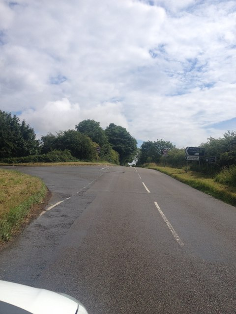 Pipewell Road junction
