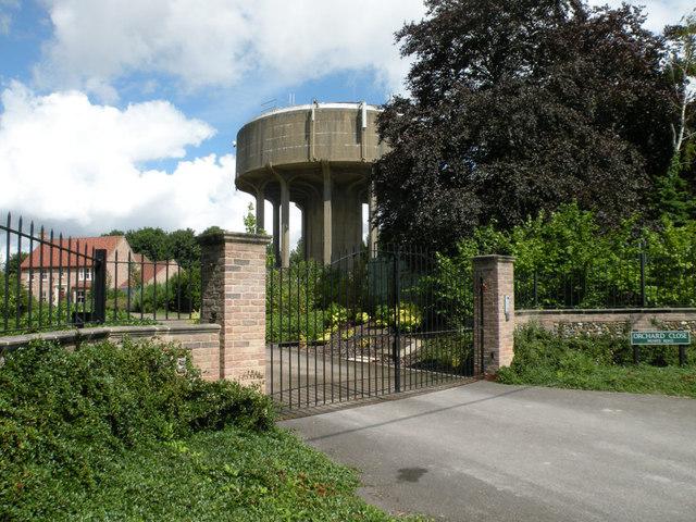 Swaffham Prior Water Tower, 2017