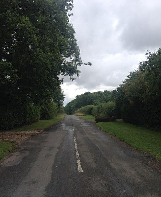On the way to Brampton Ash