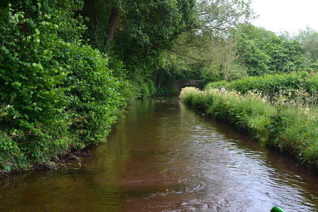 Monmouthshire and Brecon Canal near Brynich Bridge
