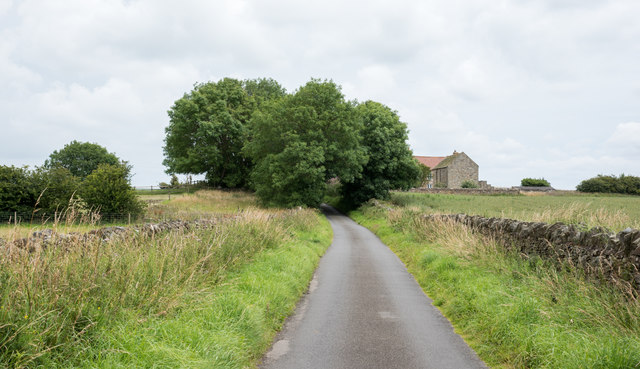 House on outskirts of Whittonstall