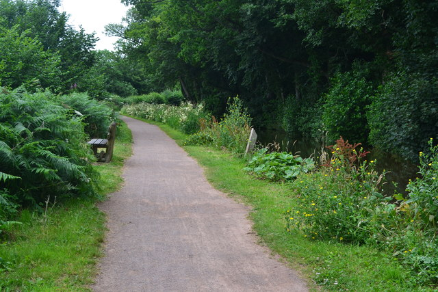 On the Monmouthshire and Brecon Canal towpath
