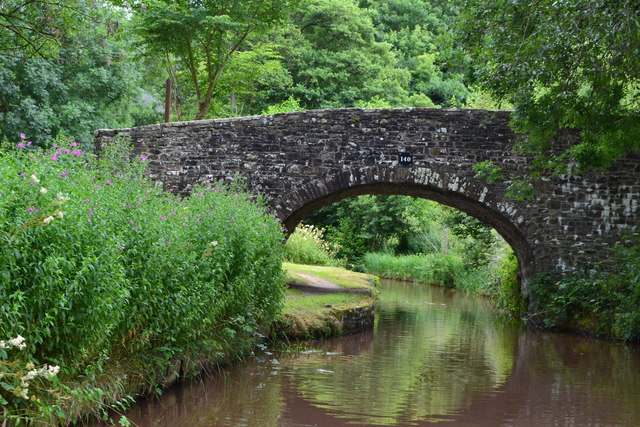Bridge No. 140 on the Monmouthshire and Brecon Canal