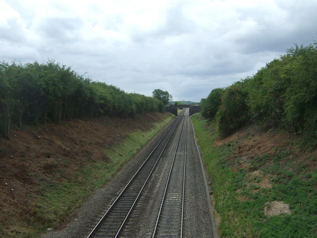 Railway towards Cheltenham