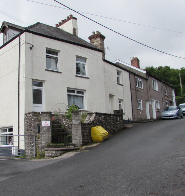 Hope House and Hope Cottages, Church Lane, Govilon