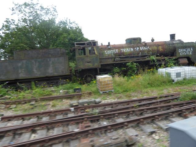 Derelict engine at Ongar