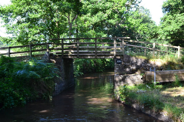 Bridge No. 128 on the Monmouthshire and Brecon Canal