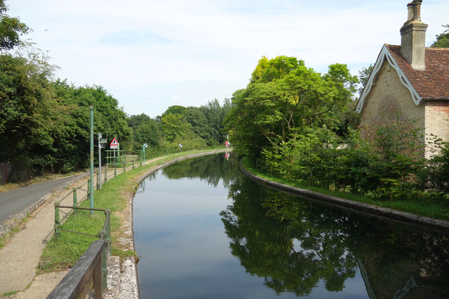 The New River at Great Amwell