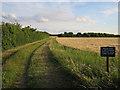 TL4665 : Permissive footpath by Hugh Venables