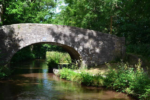 Bridge No. 123 on the Monmouthshire and Brecon Canal
