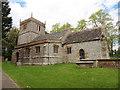 SY6697 : Godmanstone, Holy Trinity by Dave Kelly