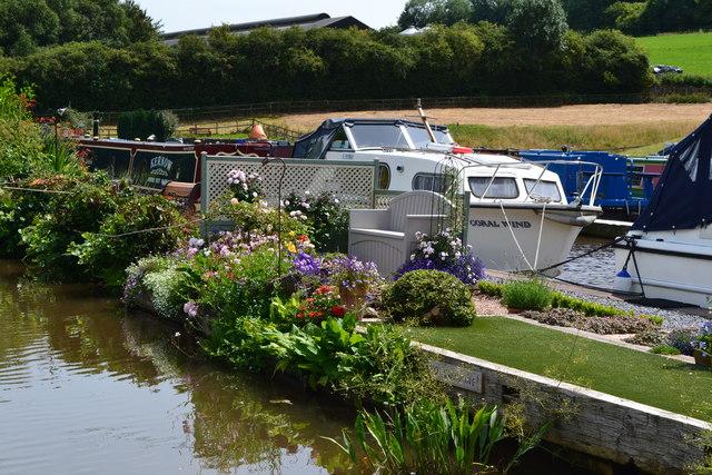 Boats at Heron's Rest Marina