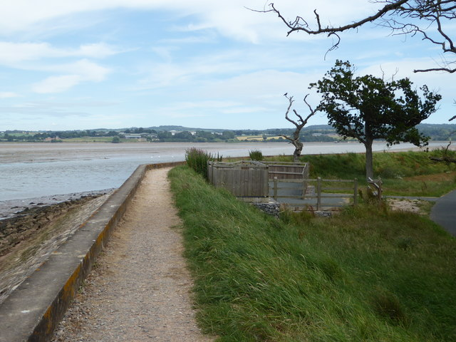 Viewing platform by the Exe estuary