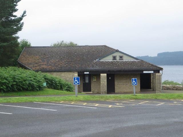 Public toilets, Tower Knowe