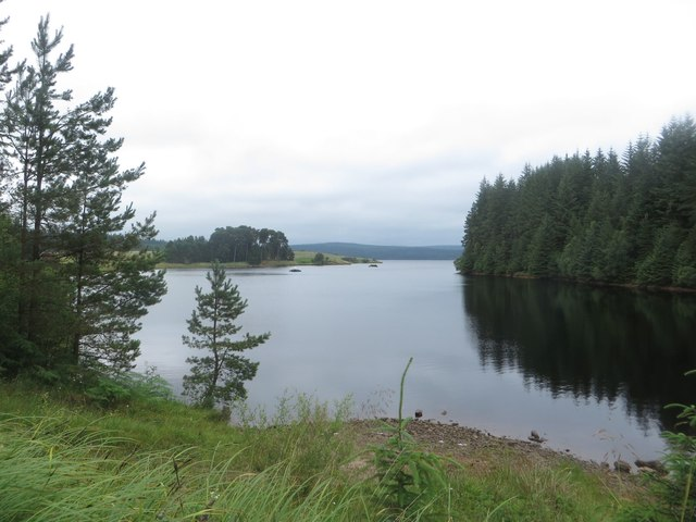 Kielder Water at Little Whickhope Burn