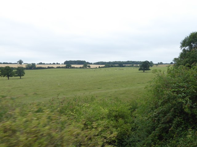View from the Epping Ongar Railway
