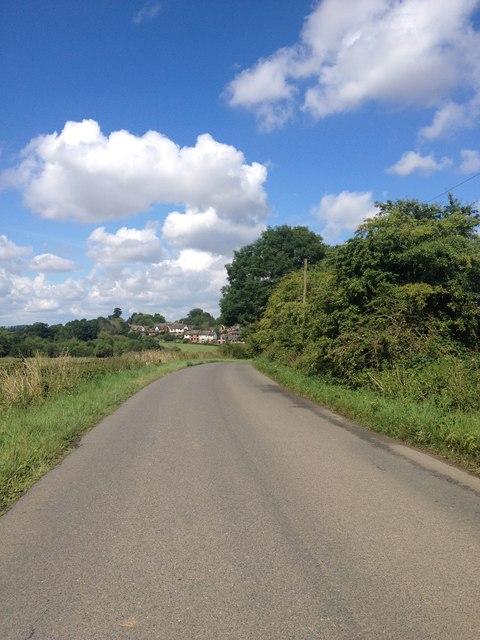 Approaching Arthingworth