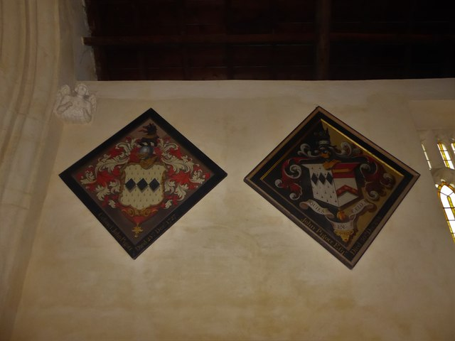 St Nicholas, Brockley: hatchments
