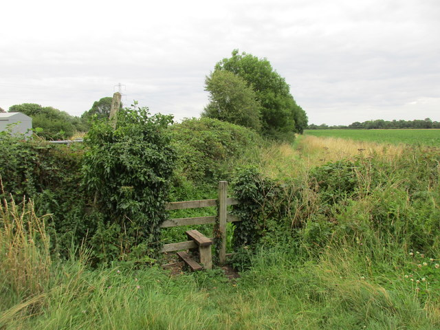Stile by the railway