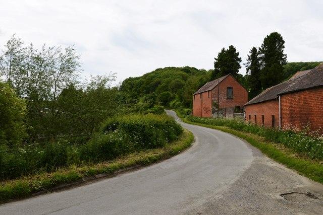 Upper Mitchell Farm, brick built barn