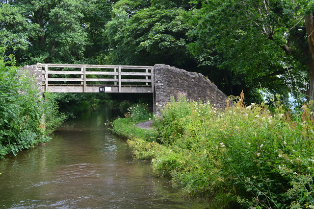 Bridge No. 91 on the Monmouthshire and Brecon Canal