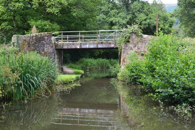 Bridge No. 86 on the Monmouthshire and Brecon Canal