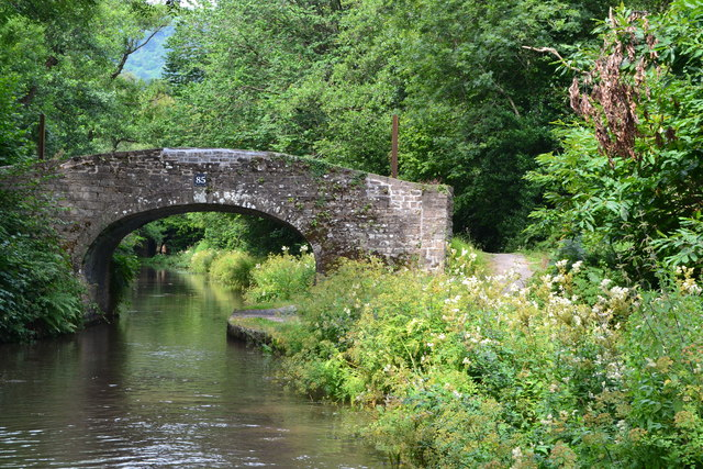 Bridge No. 85 on the Monmouthshire and Brecon Canal