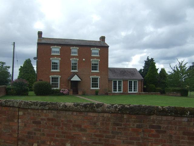 House, Sharpway Gate Farm