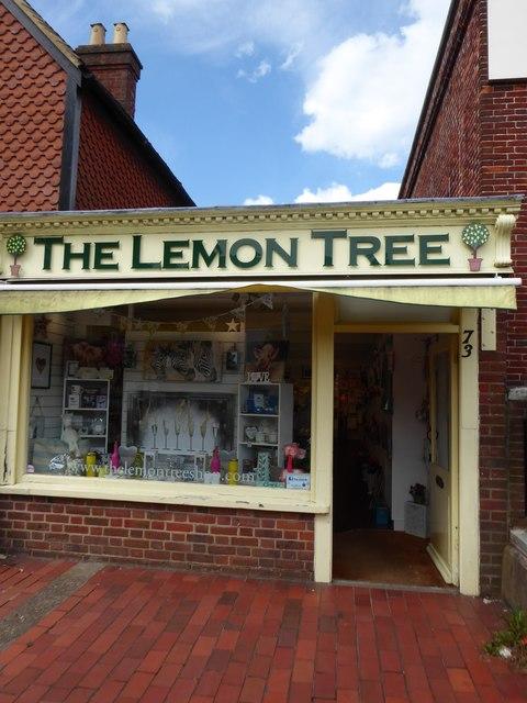 The Lemon Tree, High Street