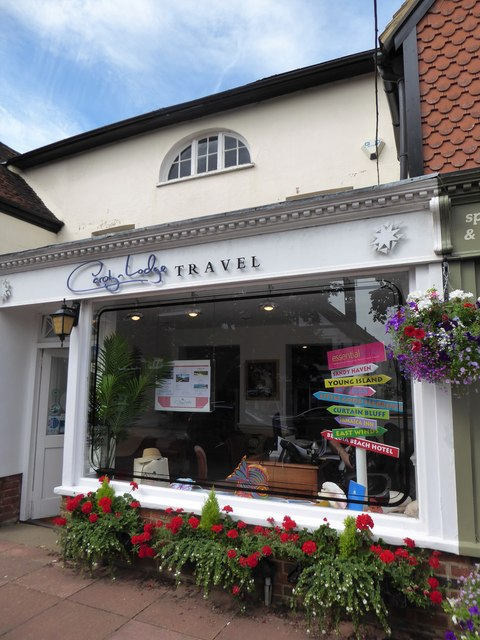Travel agents in the High Street