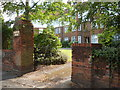 TQ3194 : Uplands Court, The Green, Winchmore Hill by Paul Bryan