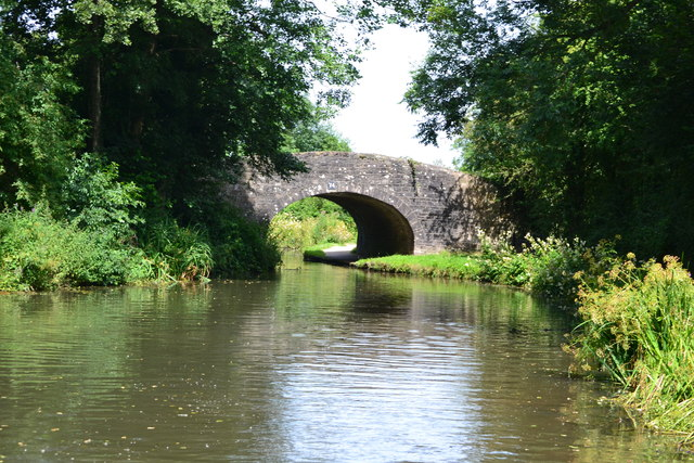 Bridge No. 74 on the Monmouthshire and Brecon Canal