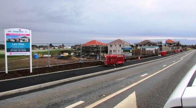 Housing development, Leven