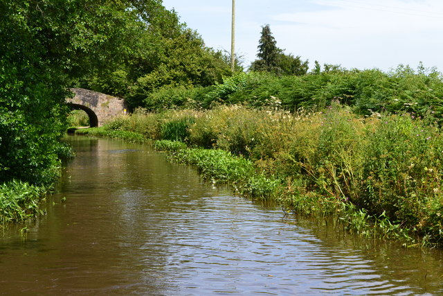 Monmouthshire and Brecon Canal near bridge No. 68