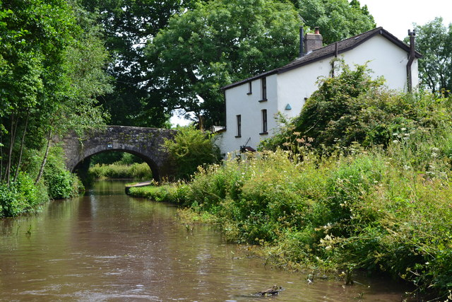 House by bridge No. 65 on the Monmouthshire and Brecon Canal