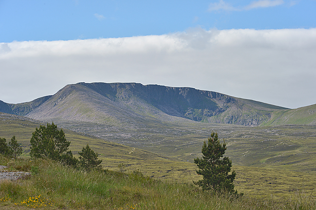 Cairn Lochan from the north