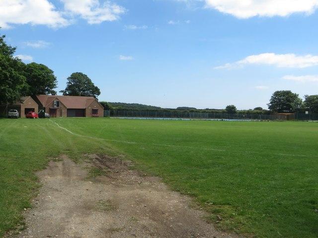 Cricket field, Flamborough